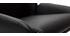 Taburete de bar diseño PU negro lote de 2 ALEK