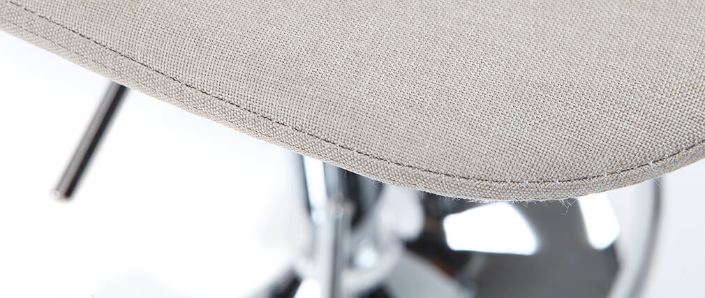 Taburete de bar diseño tejido natural lote de 2 ZACK