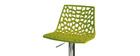 Taburete de bar diseño verde ATRAX