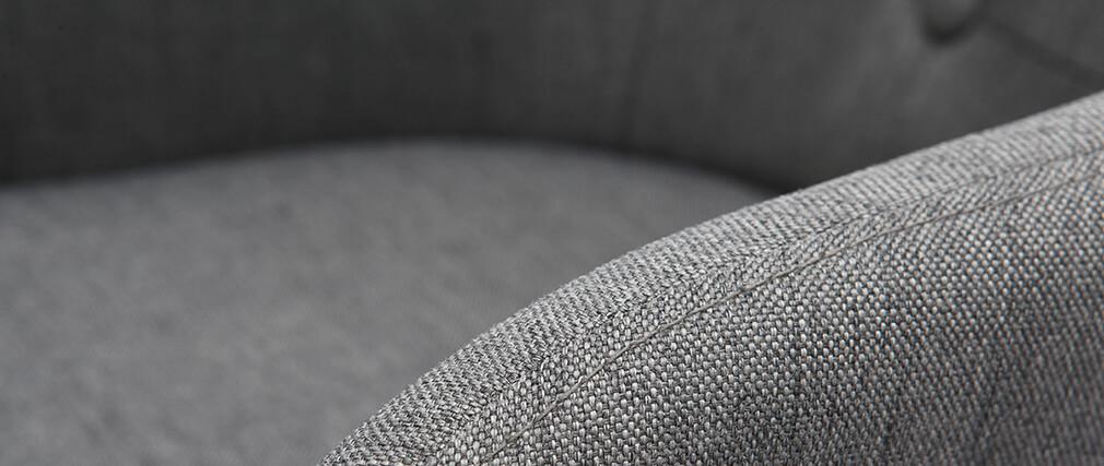 Taburete de bar escandinavo 75cm gris oscuro BALTIK
