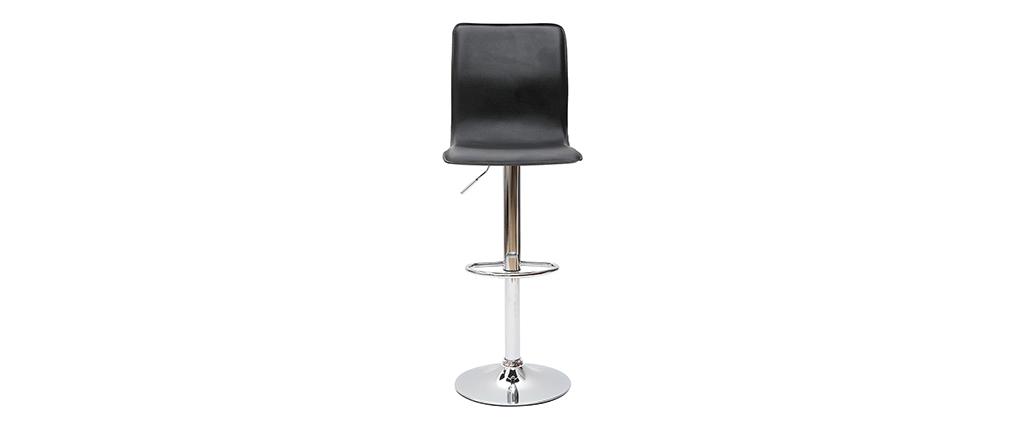 Taburete de bar lounge SURF ALTO color negro (lote de dos)