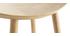 Taburete de bar madera clara 65 cm DEMORY