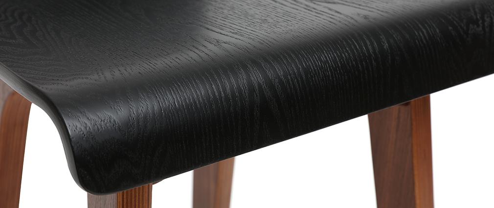 Taburete de bar negro 65 cm BALTIK