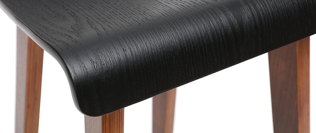 Taburete de bar negro 75 cm BALTIK