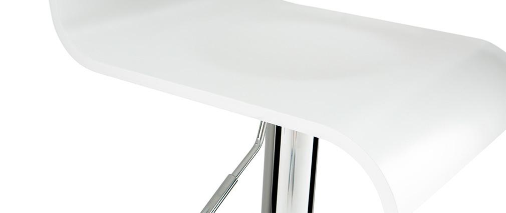 Taburete de bar SURF color blanco