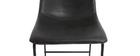 Taburete de bar vintage PU negro 73cm lote de 2 NEW ROCK