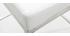 Taburete diseño 66cm blanco lote de 2 EPSILON