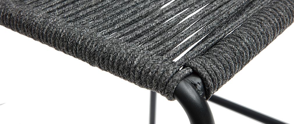 Taburetes de bar de exterior gris 72 cm (lote de 2) YORGO