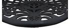 Taburetes de bar diseño barroco negro BAROCCA
