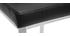 Taburetes de bar modernos negros 66 cm TOMY