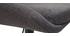 Taburetes de bar modernos regulables gris oscuro (lote de 2) HOLO