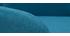 Taburetes de bar nórdicos azul petróleo y madera A65 cm (lote de 2) BALTIK