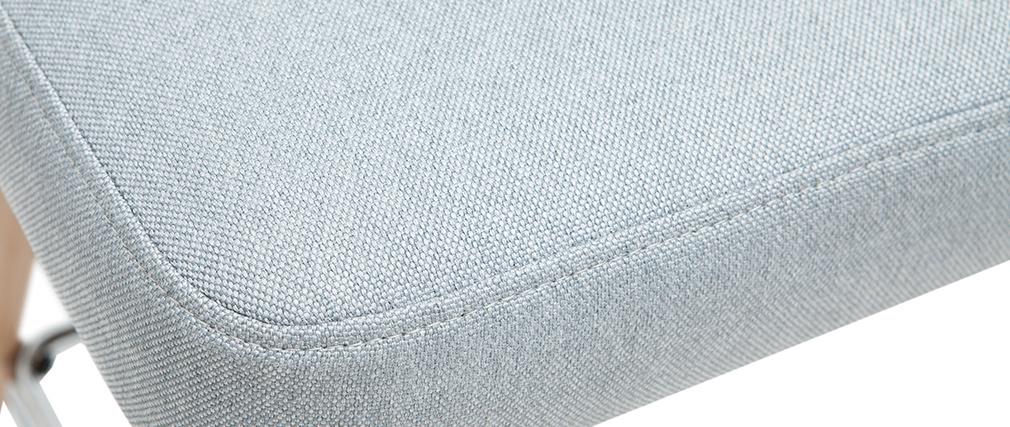 Taburetes de bar nórdicos giratorios gris claro A65 cm (lote de 2) HASTA