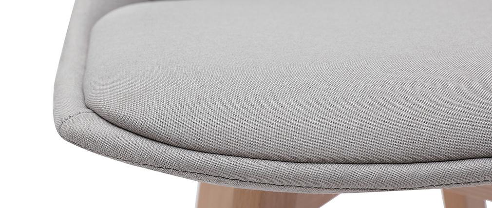 Taburetes de bar nórdicos gris claro 65 cm (lote de 2) MATILDE