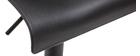 Taburetes de bar regulables en metal negro (lote de 2) ONA