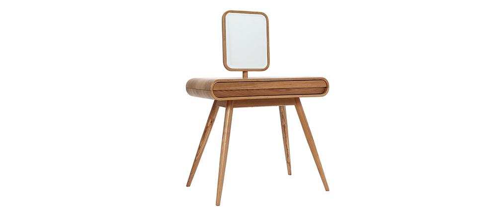 Tocador diseño fresno con espejo BJORG