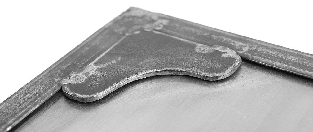 Zapatero pequeño / cómoda industrial pequeña metal FACTORY